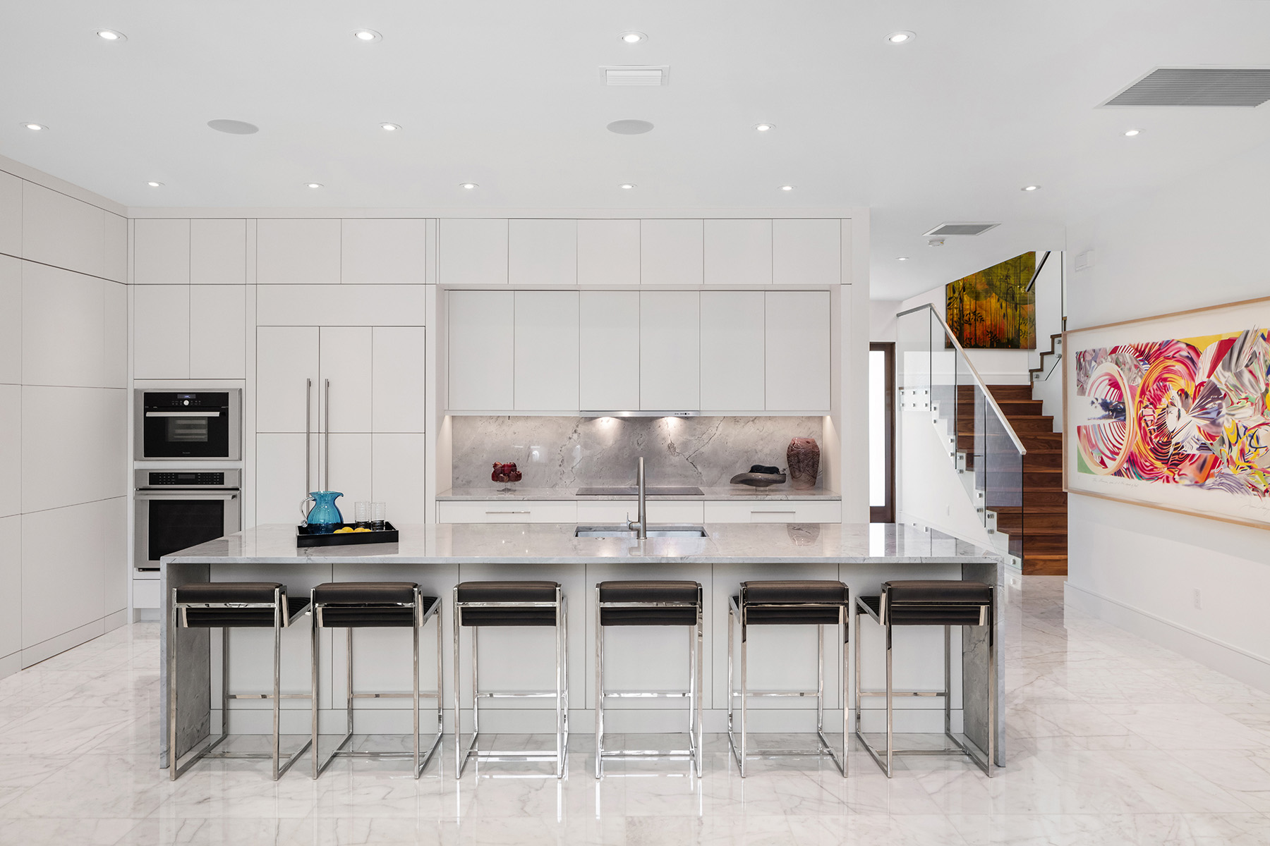 Architecture and aesthetics in kitchen concept planning