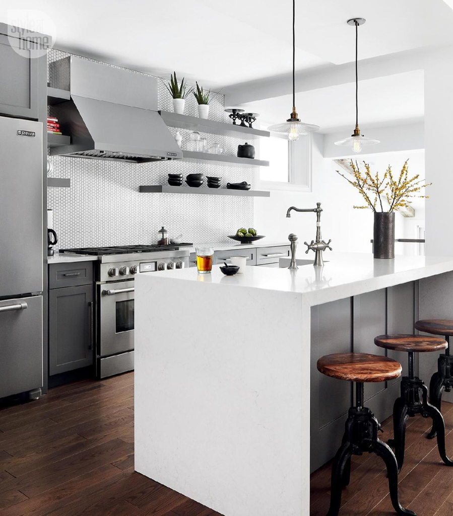 Small Kitchen Designs 2019: The Top 5 Kitchen Trends For 2019: Color, Cabinets And Copper